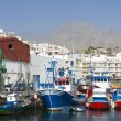 Fishing harbor of Los Cristianos. Canary Island Tenerife, Spain — Stock Photo #25416729