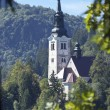 Lake Bled Slovenia — Stock Photo