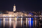 Krk Town By Night — Stock Photo