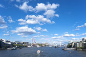 Thames river London — 图库照片