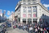 Oxford Street London — Stock Photo
