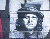 Zucchero Graffiti — Stockfoto