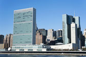 UN Building, New York City — Stock Photo