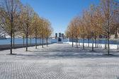 Четыре свободы парк Нью-Йорк Сити — Стоковое фото