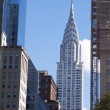 Chrysler building New York City — Stock Photo
