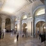 The New York Public Library Interior — Foto Stock