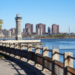Roosevelt island lighthouse — Stock Photo