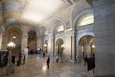 The New York Public Library Interior — Stock Photo