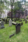 Trinity church v new york city — Stock fotografie