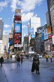 Times Square New York City — Foto Stock