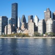 Manhattan Skyline New York City — Stock fotografie