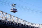 Roosevelt Island cable tram — Stock Photo