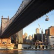 Queensboro Bridge New York City — Stock Photo