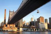 Queensboro Bridge New York City — Stock Photo