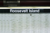 Roosevelt Island subway station New York City — Stock Photo