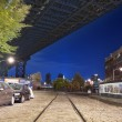 Stock Photo: Brooklyn Nights New York City