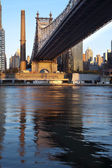 Queensboro Bridge, New York City — Stock Photo