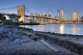 Brooklyn Bridge New York City — Stock Photo