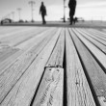 Coney Island boardwalk detail New York City — Stock Photo #38890249