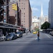 Stock Photo: Street scene in Greenwich Village New York City