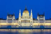 Budapest parlamentsbyggnaden — Stockfoto