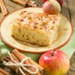 Homemade apple pie with cinnamon — Stockfoto