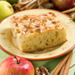 Homemade apple pie with cinnamon — Stok fotoğraf