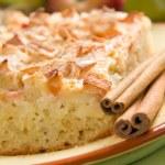 Homemade apple pie with cinnamon — Stock Photo #12248749