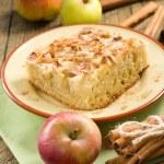 Homemade apple pie with cinnamon — Stock Photo