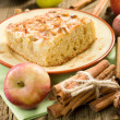 Homemade apple pie with cinnamon - Stock Photo