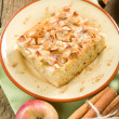 Homemade apple pie with cinnamon — Stock Photo