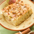Stock Photo: Homemade apple pie with cinnamon