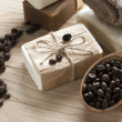 Spa coffee soap — Stock Photo