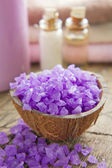 Aromatic spa set — Stock Photo