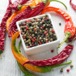 Peppercorn mix — Stock Photo #13130545