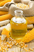 Corn oil — Stock Photo