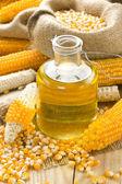 Corn oil — Stock Photo