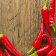 Red hot chilli peppers — Stock Photo #18812471