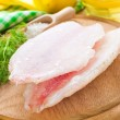 Stock Photo: Tilapiini fillet