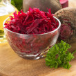 Raw grated beet - Stock Photo