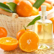Tangerine essential oil — Stock Photo #18872091