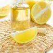 Lemon oil — Stock Photo