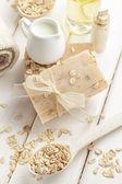 Savon de farine d'avoine — Photo