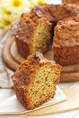 ふんわりとしたレーズン ケーキ — ストック写真
