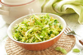 Cabbage salad — Stock Photo