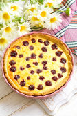 Cherry pie — Stock Photo