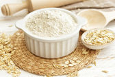 Oat flour — Stock Photo