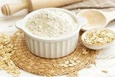 Oat flour — Stock Photo