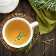Rosemary tea — Stockfoto