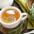 Rosemary tea - Stock Photo